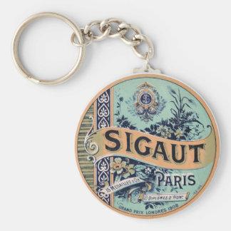 Sigaut Paris - viktorianischer Werbungs-Aufkleber Schlüsselanhänger