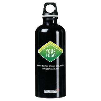 SIGG schwarzes kundenspezifisches Logo der Aluminiumwasserflasche