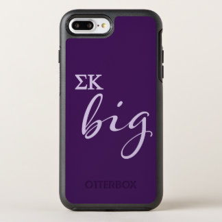 Sigma-Kappa-großes Skript OtterBox Symmetry iPhone 8 Plus/7 Plus Hülle