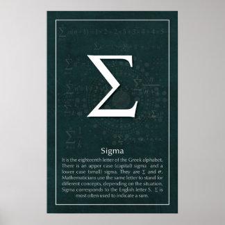 Sigma Poster