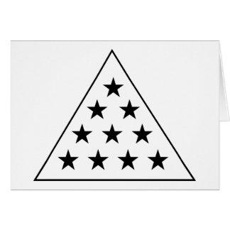 Sigma-PU-Pyramide B+W Karte