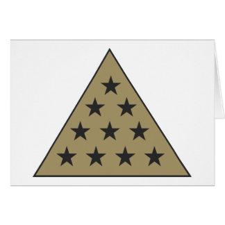 Sigma-PU-Pyramide-Gold Karte