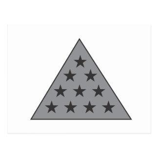 Sigma-PU-Pyramide-Grau Postkarte