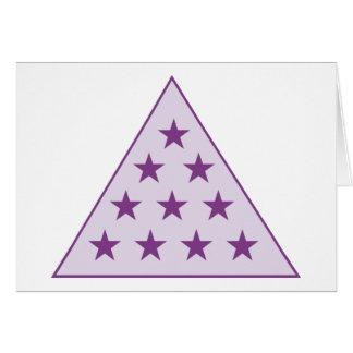 Sigma-PU-Pyramide lila Karte