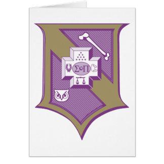 Sigma-PU-Schild 2-Color Karte