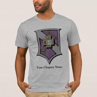 Sigma-PU-Schild 4-Color T-Shirt