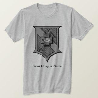 Sigma-PU-SchildGrayscale T-Shirt