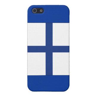 Signal-Flagge des Röntgenstrahl-(X) Etui Fürs iPhone 5