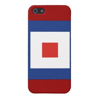 Signal-Flagge des Whisky-(W) Schutzhülle Fürs iPhone 5