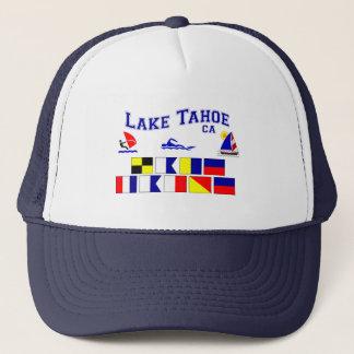 Signal-Flaggen Lake Tahoe CA Truckerkappe