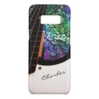 Signierte Bass-Gitarre mit Regenbogen merkt Fall Case-Mate Samsung Galaxy S8 Hülle