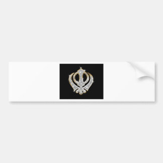 Sikhkunst-Symbol Autoaufkleber