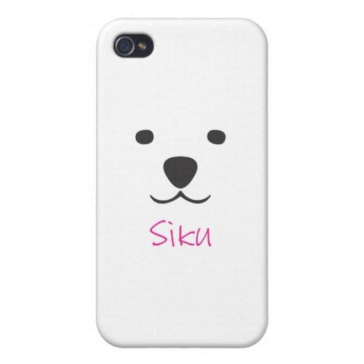 Siku der Eisbär iPhone 4 Hülle