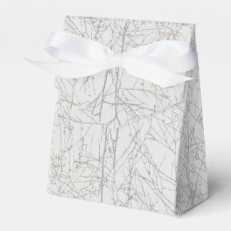 "Silber-""Baum-"" Bevorzugungs-Kasten Geschenkschachtel"
