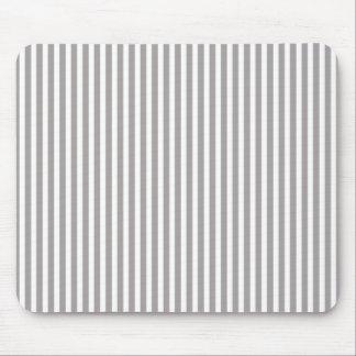 Silber-Distelcabana-Streifen-Muster Mousepad