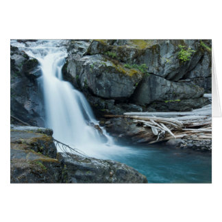 Silber-Fälle, Nationalpark des Mount Rainier Karte