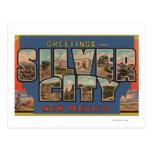 Silber Stadt, New Mexiko - große Buchstabe-Szenen Postkarten
