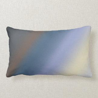 Silber/stehlen blaues Mischungskissen Kissen