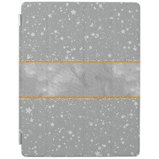 Silber-Sterne iPad Hülle