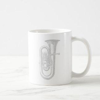 """Silber"" Tuba Kaffeetasse"