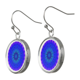 Silber überzogenes Party - 10 Tropfen-Ohrringe Ohrringe