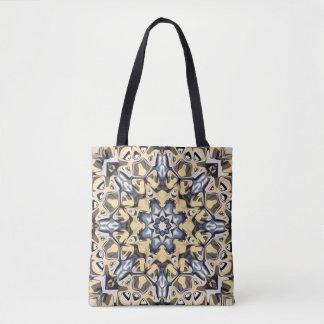 Silber und Gold abstrakt Tasche