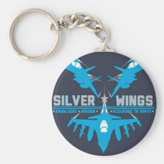 Silber Wings Schlüsselkette Schlüsselanhänger