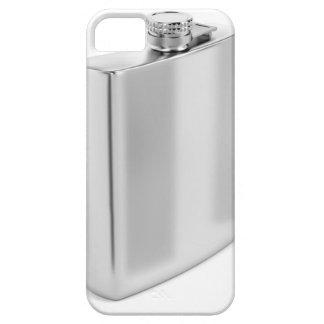 Silberne angesagte Flasche iPhone 5 Hülle