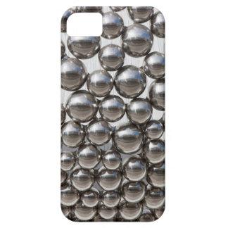 Silberne Bälle iPhone 5 Schutzhüllen