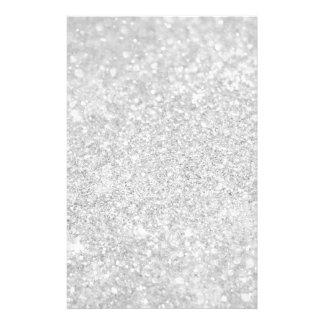 Silberne Diamant-Art Büropapier