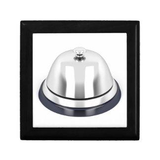 Silberne Empfangsglocke Geschenkbox