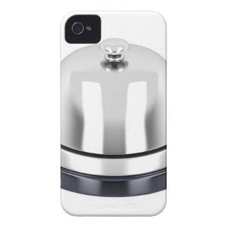 Silberne Empfangsglocke iPhone 4 Hüllen