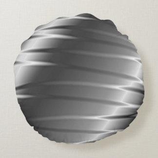 Silberne Greifer Rundes Kissen