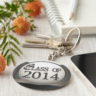 Silberne Klasse von Keychain 2014 Schlüsselanhänger