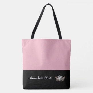 Silberne Kronen-Taschen-Tasche-Großes Rosa Tasche