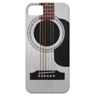 Silberne oberste Akustikgitarre Barely There iPhone 5 Hülle