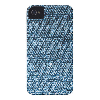 Silberne Paillette iPhone 4 Cover
