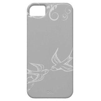 Silberne Schwalbe iPhone Abdeckung Etui Fürs iPhone 5