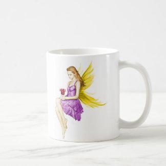 Silberner Ahorn-Baum-feenhafte haltene Blume Kaffeetasse