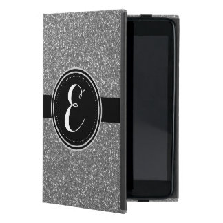 Silberner Bling Glitter personalisierter Ipad Fall iPad Mini Hülle
