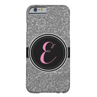 Silberner Bling Glitter personalisierter Iphone Barely There iPhone 6 Hülle
