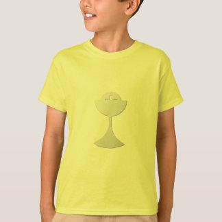 Silberner Chalice und Wirt T-Shirt