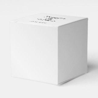 Silberner Eleganz-Gastgeschenk Hochzeits-Kasten Geschenkschachtel