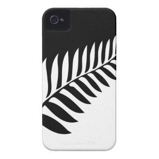 Silberner Farn von Neuseeland iPhone 4 Hülle