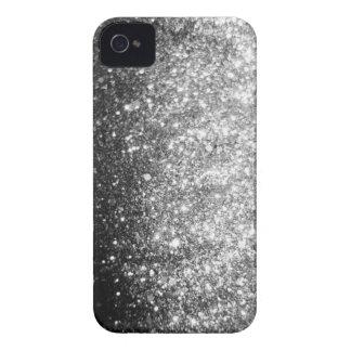 Silberner Glitter-Schein iPhone Fall iPhone 4 Case-Mate Hüllen