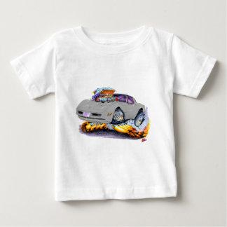 Silbernes Auto 1980-82 Korvette Baby T-shirt