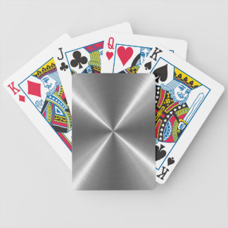 Silbernes Edelstahl-Metall Spielkarten