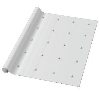 Silbernes FreimaurerPackpapier Geschenkpapier