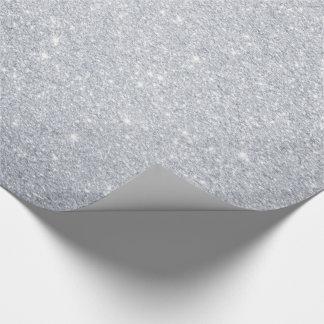 Silbernes Glitzer-Verpackungs-Papier Geschenkpapier