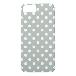 Silbernes Grau-Tupfen iPhone 7 Fall iPhone 8/7 Hülle